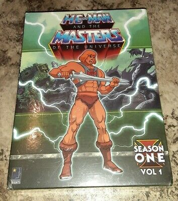 $27 • Buy DVD He Man Masters Of The Universe First Season 1 Volume 1 Full Screen NEW