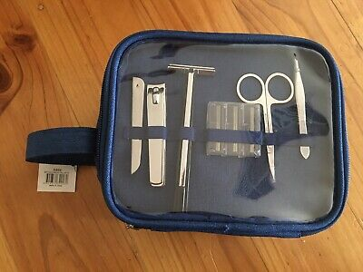 AU15 • Buy NWT Windsor Grooming Accessories Men's Travel Bag (razor,Nail Clippers,Tweezers)
