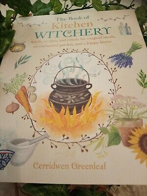 The Book Of Kitchen Witchery,Spells,Recipes, Rituals Pagan Wicca Hedgewitch 🌙   • 10.50£