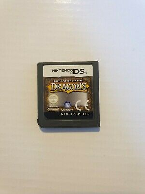 COMBAT OF GIANTS . DRAGONS   DS Cartridge Only, NO Box Or Manual. • 5.99£