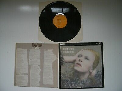 David Bowie:hunky Dory, Made In Canada Label,uk Sleeve,original Insert,nm Vinyl  • 230£