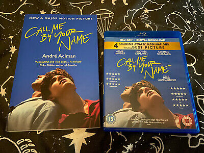 Call Me By Your Name Blu Ray + Book Combo Gay Interest • 0.99£