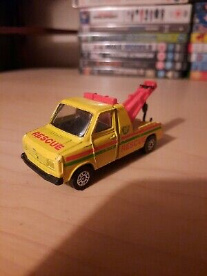 Vintage Corgi Ford Transit Breakdown Truck With Hook BP Matchbox Size Toy Car  • 2£