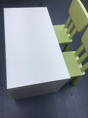 Childrens Ikea Table & Two Chairs  • 10£