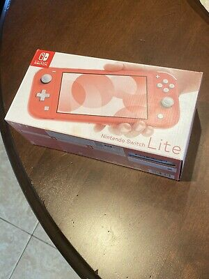 $ CDN243.96 • Buy BRAND NEW + FREE SHIPPING - Nintendo Switch Lite 32 GB Console - Coral Pink -