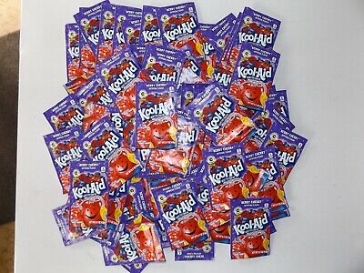 100 Packets Kool-aid Drink Mix 'berry Cherry' Flavour Unsweetened Vitamin C • 45.02£