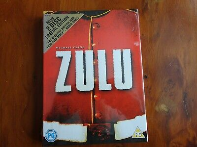 Zulu DVD 2 Disc Special Edition. New Wrapped & Sealed. • 2.75£