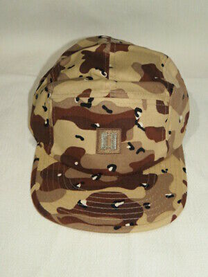 Desert Camouflage Embroidered U.S. Army Captain Insignia Cap • 7£