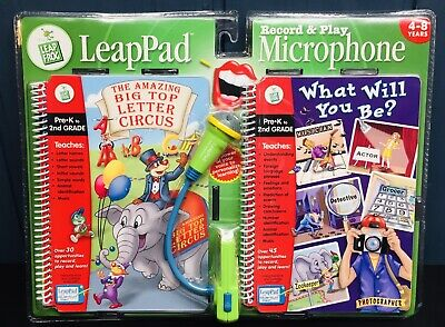 £11.50 • Buy NEW LeapFrog LeapPad Educational Toy Record & Play Microphone Pre-K To 2nd Grade