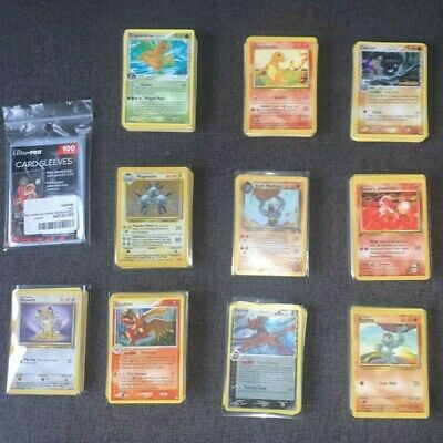 325 Pokemon Cards Bundle, HOLO's GUARANTEED (spare Sleeves Included) • 5.50£