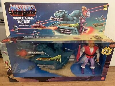 $55 • Buy Masters Of The Universe Sky Sled & Prince Adam 2020 Origins NIB