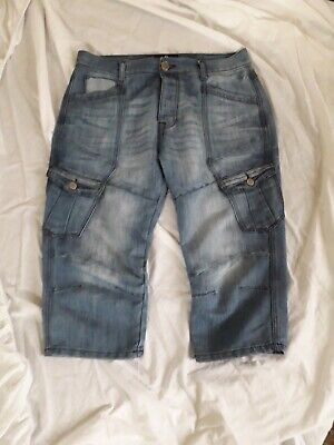 Airwalk Denim Shorts Size Medium  • 1£