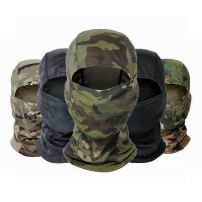 $8.69 • Buy Breathable Windproof Camouflage Balaclava Full Face Mask Tactical Military Hood