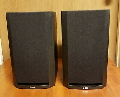 $ CDN150.79 • Buy Pair Of Black B&W Bowers And Wilkins DM302 DM 302 Bookshelf Speakers - Tested