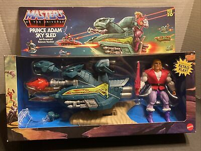 $54.99 • Buy Mattel Masters Of The Universe Origins Prince Adam's Sky Sled Vehicle/Figure