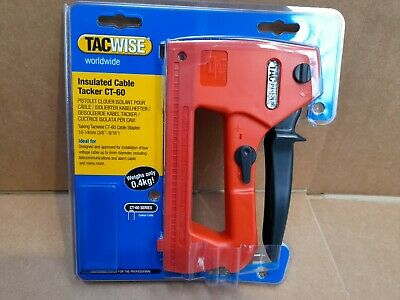 £16.95 • Buy Insulated Cable Tacker, CT-60 Tacwise 0321, Buy Staples On Same Page, Free P&P