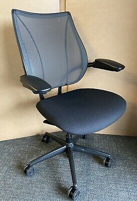 Excellent Humanscale Liberty Office Chair New Seat Fabric Free Postage • 245£