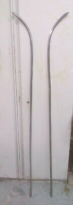 Pair Volvo P1800 Rear Wings Chrome (need Re-chroming) • 300£
