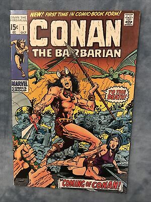 Marvel Comics. CONAN THE BARBARIAN # 1. 1970. FIRST ISSUE. • 320£