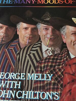 George Melly The Many Moods Of Melly Vinyl, LP PRT – N6550 • 0.99£