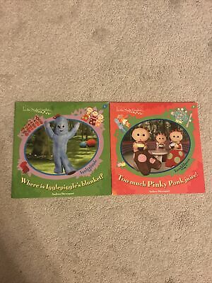 In The Night Garden Pair Of Paperback Books Pinky Ponk & Igglepiggle • 1.50£