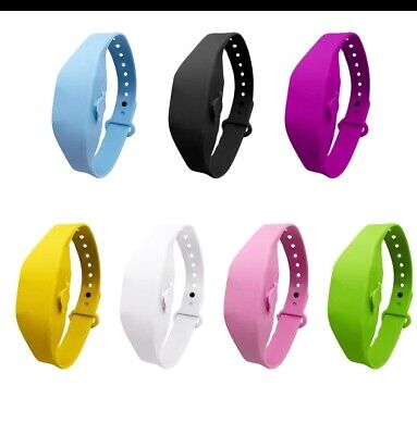 Hand Gel Anti Bac Wrist Band Dispenser For Sale Available To Buy Single Or Bulk • 4.50£