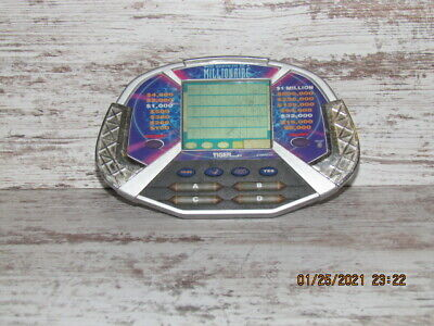 £7.29 • Buy 2 Vintage Who Wants To Be A Millionaire+ Yatzee  Handheld Electronic Games  (A)