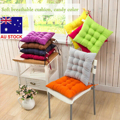AU15.38 • Buy Indoor Outdoor Dining Garden Patio  Kitchen Office Chair Seat Pads Cushion DM