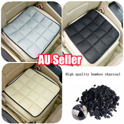AU20.25 • Buy Bamboo Charcoal Breathable Seat Cushion Cover Pad Mat For Car Office Chair DM