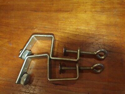 £19.50 • Buy Table Clamp X 2 For Brother Knitting Machine Ribber KR 850 Standard Gauge