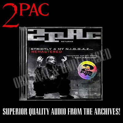 2pac - Strictly 4 My Niggaz Remastered Special Edition Promo Unreleased • 35£