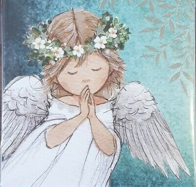 One Pack Of 10 Charity Christmas Cards - Angels Prayer • 1.50£