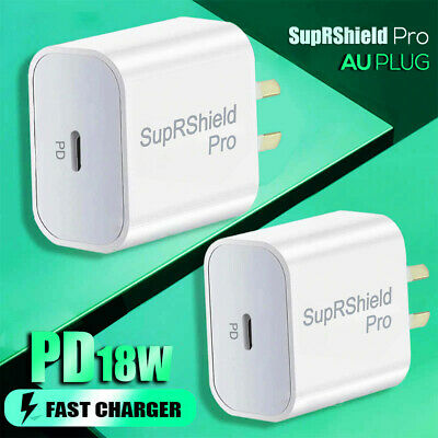 AU10.99 • Buy 18W PD Fast Charging Wall Plug Charger Adapter For Apple IPhone 12 Pro Max Mini