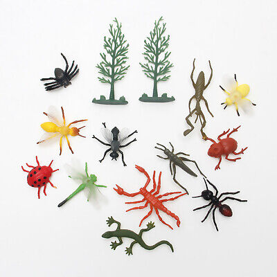 £3.97 • Buy 12 Pcs PVC Insect Figures Bugs For Child Kids Gift Toy UK Stock
