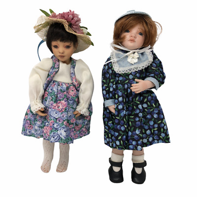$ CDN24.19 • Buy Jennifer Esteban Mylo And Destiny Lot Of 2 Porcelain Dolls