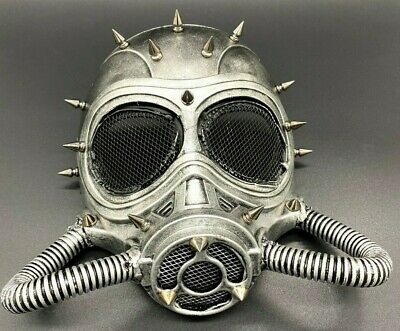 $18.90 • Buy Full Face Gas Mask Steampunk Respirator Cosplay Halloween Costume Party 4 Colors