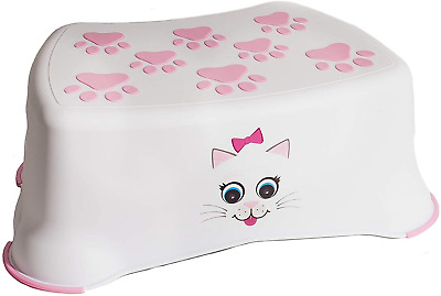 AU30.72 • Buy My Little Step Stool - Cat Step Stool For Toddlers, Anti-Slip Toilet Training To
