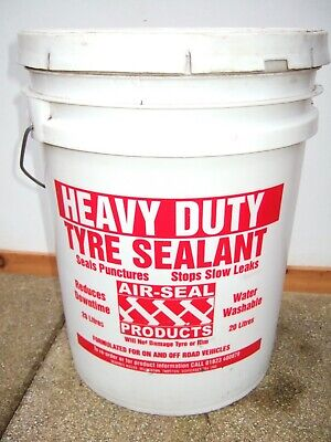 Tyre Sealant By Air-Seal Heavy Duty Tyre Sealant 14 Litre & Installation Pump • 84.99£