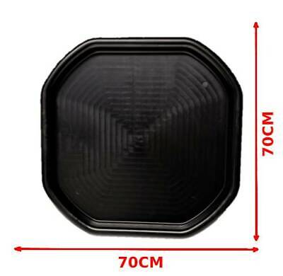 Small Black Plastic Mixing Tray Sand Water Play Children - Builders Equipment • 12.49£