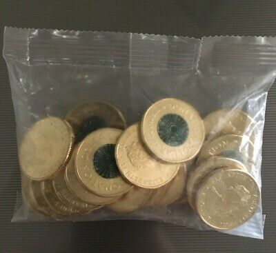 AU37.50 • Buy 2020 $1 One Dollar Green Coin Donation Dollar - Unopened Mint Bag 20 Coins
