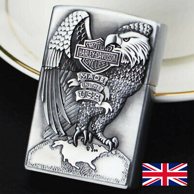 £7.99 • Buy Harley Davidson Gifts Cool Lighter For Men Soft Flame Refillable Gas Windproof