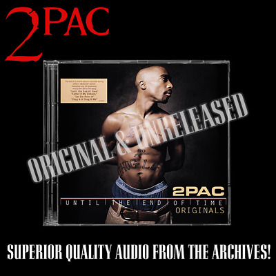 2pac - Until The End Of Time Original Album Raw & Uncut Promo Unreleased • 35£