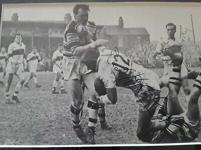 AU65 • Buy Signed Rugby League Photo Dick Huddart And Keith Northey
