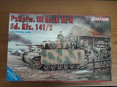 1/35 Dragon Imperial Series Panzer III Ausf M/N With Side Armour • 60£