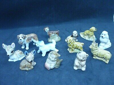 £14.99 • Buy Vintage Wade Whimsies Early Sets Old Ones Dogs, Disney Hat Box Bambi, Kittens .