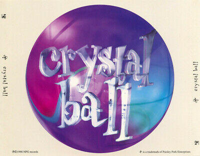 ID7427z - The Artist Formerly Known As Prince - Crystal Ball - CD - Us • 202.37£