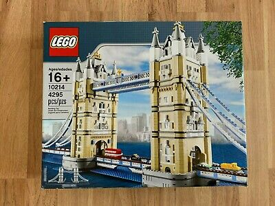 **NEW** LEGO Creator Tower Bridge (10214) - Factory Sealed Box • 214.57£