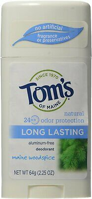 £8.28 • Buy Long-Lasting Deodorant Stick By Tom's Of Maine, 2.25 Oz Maine Woodspice