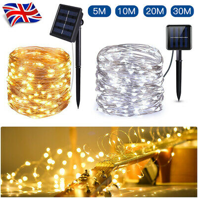 300LED Solar String Lights Waterproof Copper Wire Fairy Xmas Garden Outdoor 30M • 7.99£