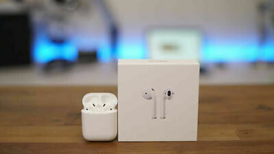 AU89.99 • Buy Apple AirPods 2nd Gen With Wireless Charging Case (Refurbished/Sealed) AU Stock